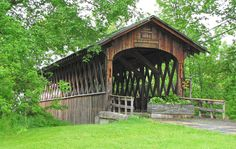 Schoharie Covered Bridge in New York State. Never been there, I just like the bridge.