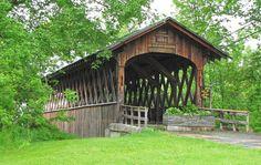 Schoharie Covered Bridge in New York State.