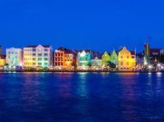 Willemstad, Curaçao, where even the night sparkles.   ASPEN CREEK TRAVEL - karen@aspencreektravel.com