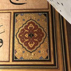 Serhat Tokmak Islamic Art Pattern, Pattern Art, Pattern Design, Arabesque, Ceramic Jewelry, Persian, Stained Glass, Mosaic, Arts And Crafts