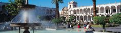 Plaza de Arequipa, Perú (nos la recomienda Nereachocolate)