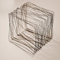 Corey Crist I Wire Cube - 2nd Draft