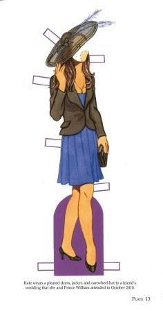 Kate Middleton Paper Doll