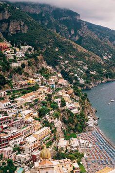 Positano, Italy Fun Facts About Italy, Amalfi Coast Italy, Positano Italy, Popular Honeymoon Destinations, Beautiful Places To Travel, Italy Travel, City Photo, Travel Photography, Scenery