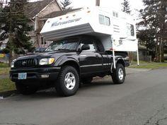 Tacoma 4×4 camper