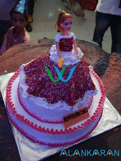 Delight your princess with a magical barbie doll cake for her birthday party that really turns out to be Great!!!