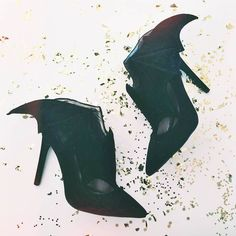The 'All Bat and More Heel' Jeffrey Campbell's are almost ready to shop.  DO WANT!
