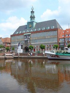 Emdener Rathaus - Ostfriesland