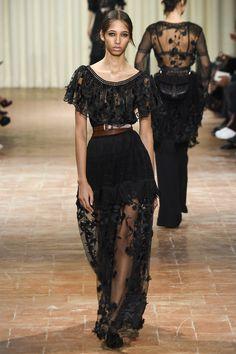 Alberta Ferretti | Spring 2017 Ready-to-Wear collection | RTW fashion | Model: Yasmin Wijnaldum