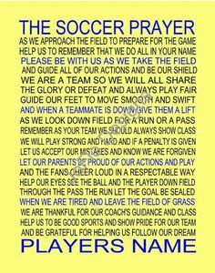 A prayer before the game. <3