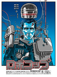 Incredible designer posters reimagine 'Robocop,' 'Blade Runner,' and more | The Verge