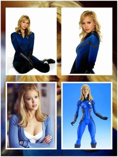 Jessica Alba as Sue Storm / Invisible Woman: Fantastic Four Movie Figure