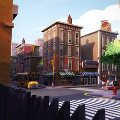 Environments - Urban City Set