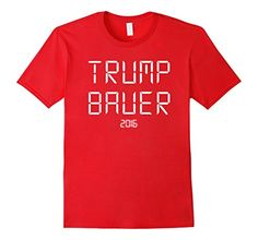 Men's TRUMP/BAUER 2016 T-Shirt 2XL Red Goldilocks 64…