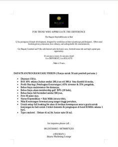 Bugatti bali, condotel & villatel