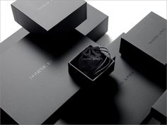 69 Ideas For Jewerly Packaging Design Inspiration Black Packaging, Luxury Packaging, Box Packaging, Ecommerce Packaging, Retail Packaging, Luxury Branding, Fashion Packaging, Jewelry Packaging, Jewelry Branding