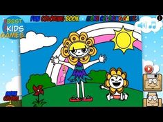 Happy Kids Have Fun - Fun Coloring Book - YouTube