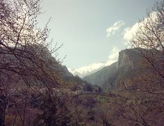 Mount Olympus, Northern Greece, April 2013