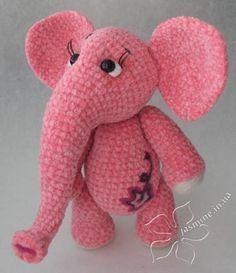 Cute amigurumi : Hollands Olifantje, #haken, gratis patroon, olifant, knuffel…