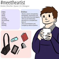 #meettheartist by @kirstiecatlady