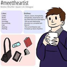 #meettheartist by @kirstiecatlady