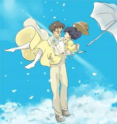 The Wind Rises - *find someone who likes ghibli and go to hillcrest Studio Ghibli Art, Studio Ghibli Movies, All Anime, Manga Anime, Le Vent Se Leve, Grave Of The Fireflies, Wind Rises, Japanese Animated Movies, Natsume Yuujinchou