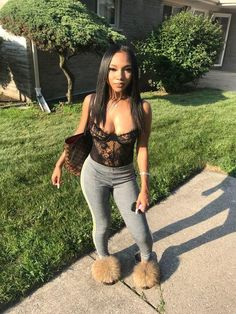 women's bodysuit – Miss. Dope Outfits, Girl Outfits, Fashion Outfits, Bodysuit Lingerie, Lace Bodysuit, Looks Halloween, Womens Bodysuit, Black Girl Fashion, Look At You