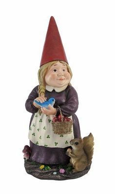 Nurture Gnome Lady Garden Gnome Statue 15.5 In. Things2Die4,http://www.amazon.com/dp/B00BYESHXS/ref=cm_sw_r_pi_dp_tHFZsb1F12X7RKDH