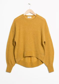 & Other Stories | Mohair Jumper in Yellow