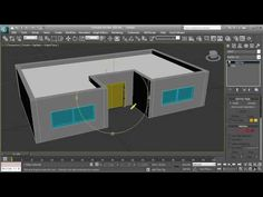 3ds max - Simple house tutorial - HD - YouTube