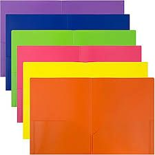 Looking for a pocket folder to make a great first impression at your presentation? Then opt for Envypak 2 pocket plastic folder having two full-size views cover pockets to create your own custom designed folders for holding unpunched notes, brochures and other loose papers. These cost-effective folders can hold 40 pages per pocket.