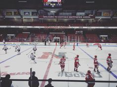 BU and Northeastern play the second game of a home-and-home series. Terriers looking for the sweep. #hockeyeast by dfpsports