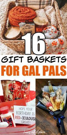 Creative Gift Baskets, Best Gift Baskets, Gift Baskets For Women, Themed Gift Baskets, Gift Ideas For Women, Gift Basket Ideas, Hamper Ideas, Gift Boxes For Women, Creative Gifts