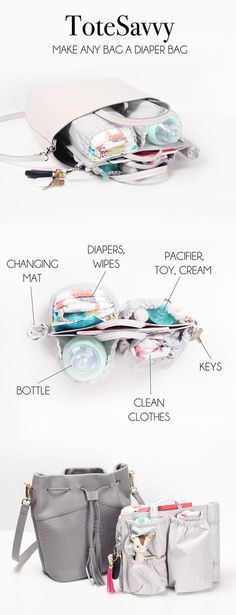 You've got this in the bag.. literally. ToteSavvy organizes your diaper bag and gives you back your sanity ;)  https://www.lifeinplaycompany.com/collections/organizer