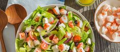 Crab Classic Greek Salad Surimi Recipes, Classic Salad, Half Moons, Squeezed Lemon, Ladies Luncheon, Liquor Drinks, Crab Salad, Salad In A Jar, Crab Recipes