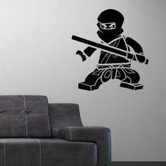 Ninjago+Lego+Vinly+Wall+Decal+Sticker+Cole+by+SIMPLEVINYL+on+Etsy,+$29.99   Eric's room