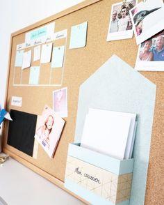 DIY - UN TABLEAU EN LIÈGE POUR S'ORGANISER http://amzn.to/2jlTh5k
