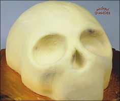 How to Make a Skull Cake by Wicked Goodies