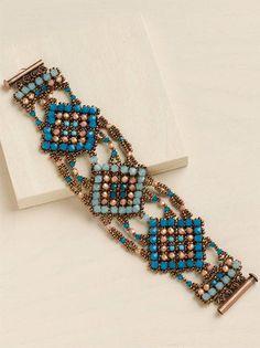 Moroccan Essence Bracelet by Barbara Falkowitz and Amy Haftkowycz