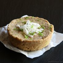Coconut-Lime Protein Riegel {vegan, glutenfrei, protein | Macht hungrig