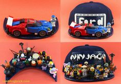 Lego Hat, Cap, Toys, Crafts, Baseball Hat, Activity Toys, Manualidades, Clearance Toys, Handmade Crafts