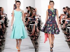 The Oscar de la Renta Spring 2014 RTW Collection
