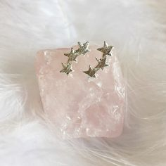 Constellation - Triple Star Earrings – Druzy Dreams
