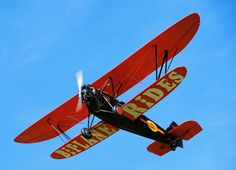 I would take my son to the circus... The Flying Circus. He would love watching these old planes fly around. It would be a great day, and some awesome pictures.