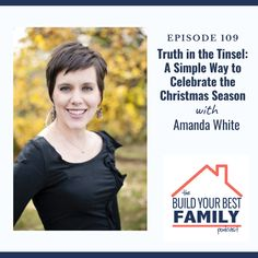 Amanda White on Truth in the Tinsel: A Simple Way to Celebrate the Christmas Season Family Traditions, Book Crafts, Getting Old, Simple Way, Amanda, The Incredibles, Memories, Seasons, Celebrities