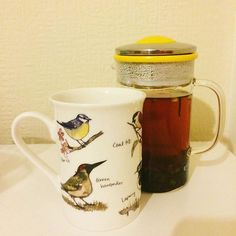 Amethyst... THIS is such brilliant cup! Welcome to the bird lover club, you're perfectly kitted out to do some bird spotting by the window! #birdspottingathqandbeyond #brewtime | Brew Tea Company