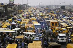 You have not experienced traffic until you've been to Lagos, Nigeria. Travelling between the various islands is a mission!!