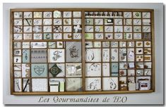 Le Point, Advent Calendar, Blog, Holiday Decor, Trays, Occupation, Printers, Couture, Drawers