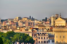 Rome, Rome, Italy - Rome - the eternal city! Walking around in this city gave me the impression of being in a beautiful Museum. I have never seen a City with so much culture, romantic spots and the best food all over the world! Hotels With Balconies, Rome Italy, All Over The World, Paths, Museum, Romantic, Culture, Mansions, House Styles