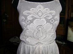Филейное вязание. / Вязание крючком / Женская одежда крючком. Схемы.